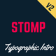 Coming Soon Template | Landing Page | Stomp - Typographic Intro Nulled