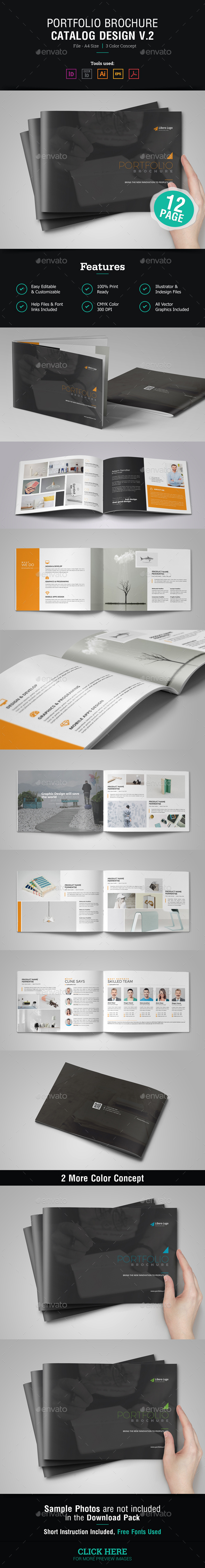 GraphicRiver Portfolio Brochure Design v2 20381241