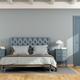 Blue master bedroom - PhotoDune Item for Sale