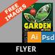 Garden Landscape Flyer - GraphicRiver Item for Sale
