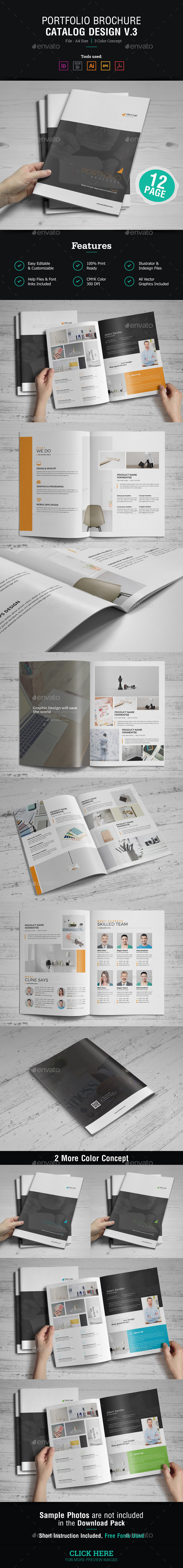 Portfolio Brochure Design v3 - Corporate Brochures