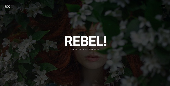 Download Rebel || Creative Portfolio Template