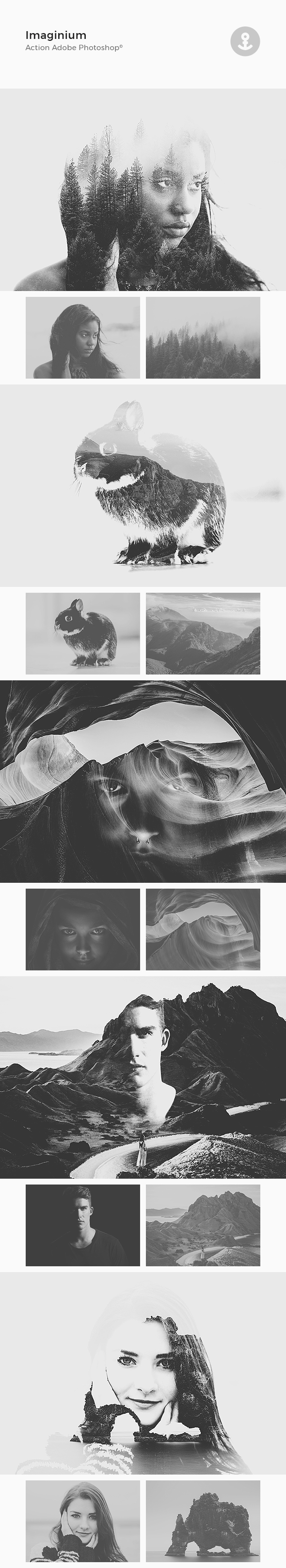 Imaginium Action Photoshop - Photo Effects Actions