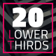 20 Modern Lower Third