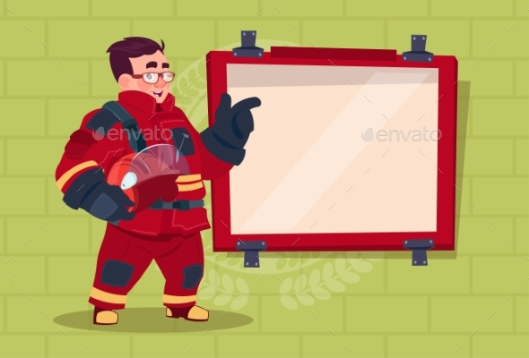 GraphicRiver Fireman Leading Training 20382190