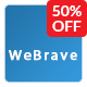 WeBrave Admin Responsive Multi-Purpose HTML Template - ThemeForest Item for Sale
