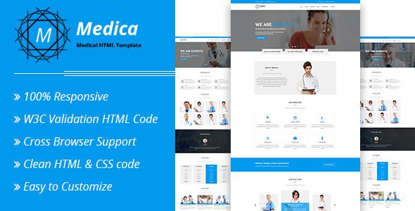 Medica - Medical HTML Template - Health & Beauty Retail