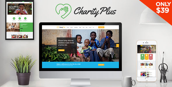 Download Charity Plus - Nonprofit WordPress Theme
