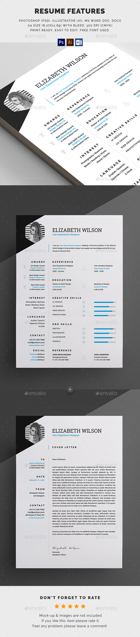 GraphicRiver Resume 20383166