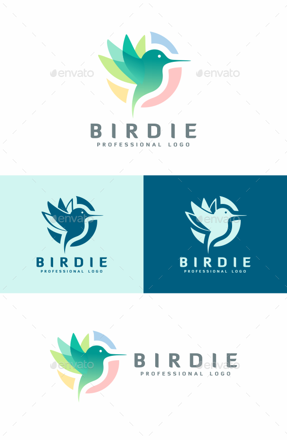 GraphicRiver Bird Logo 20383188