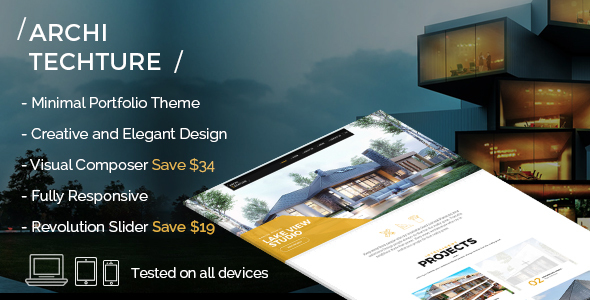Portfolio, Creative, Theme - Architecture - Creative WordPress