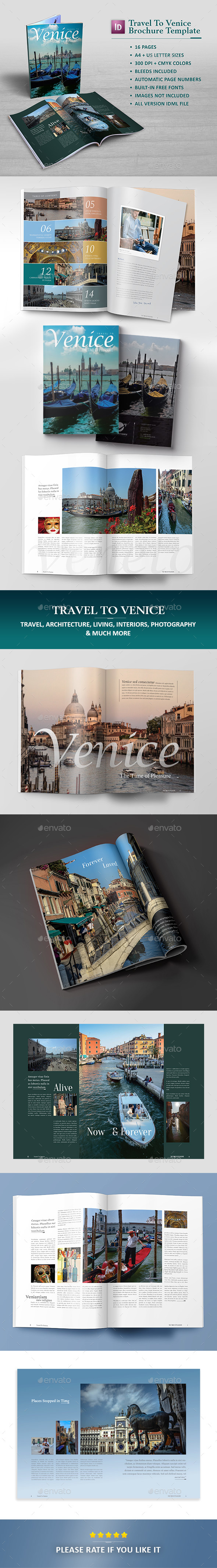 Travel Brochure Template - Catalogs Brochures