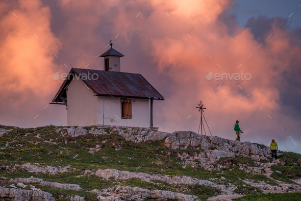 Summer in the Dolomites - Stock Photo - Images