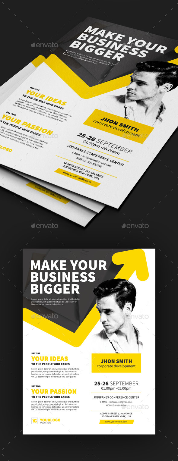 Business Conference Flyer - Events Flyers