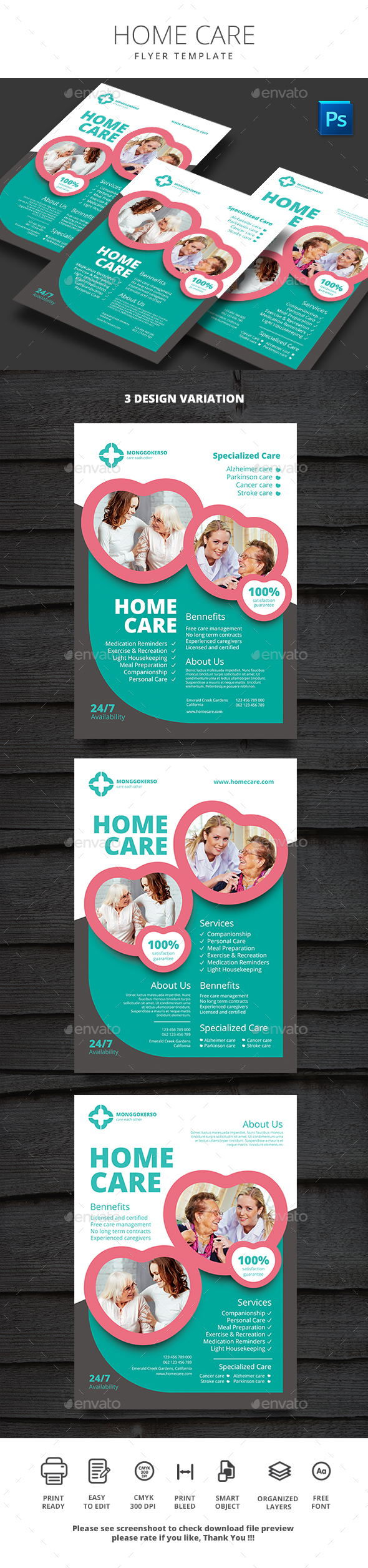 GraphicRiver Home Care 20384109