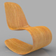 Rocking Wooden Chair - 3DOcean Item for Sale