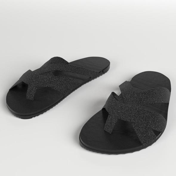 3DOcean Sandals Slippers 3 20384296