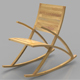 Wishbone Rocking Chair - 3DOcean Item for Sale