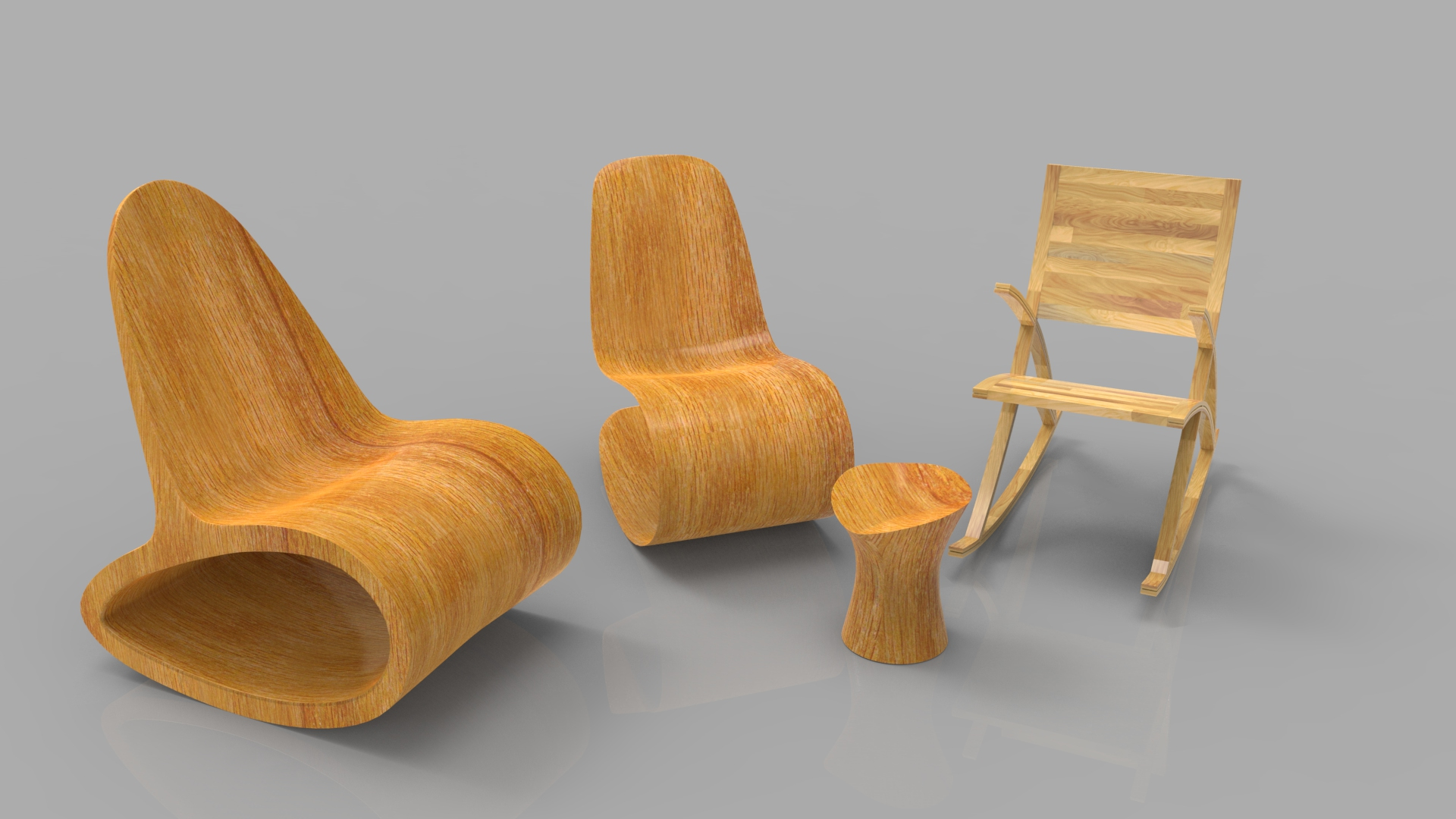 ... Wooden Chair Collection.64 ...