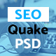 SEO quake – SEO & Digital Marketing Agency - PSD Template - ThemeForest Item for Sale