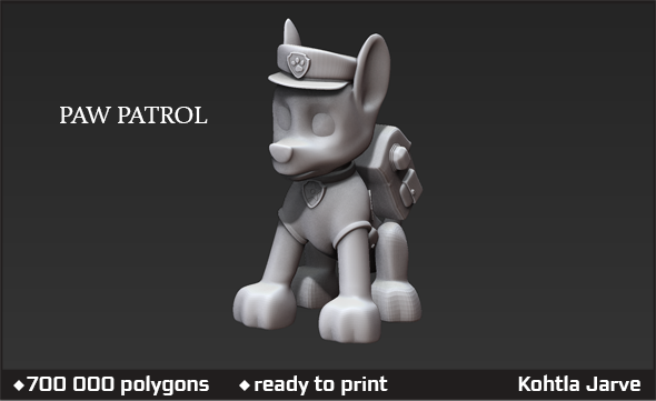 Paw patrol - 3DOcean Item for Sale
