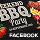 Weekend BBQ Facebook Cover