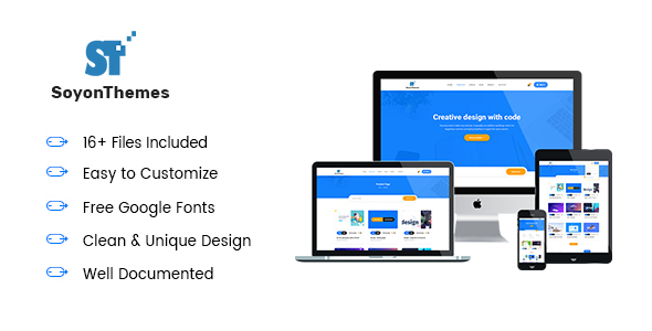 SoyonThemes - Digital Products Marketplace E-Commerce HTML5 Template