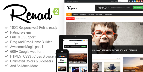 News Renad - News Magazine Newspaper