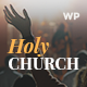 Holy Church | Religion & Nonprofit Theme WordPress Theme - ThemeForest Item for Sale