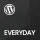 Everyday - Modish News, Magazine and Blog Theme Nulled