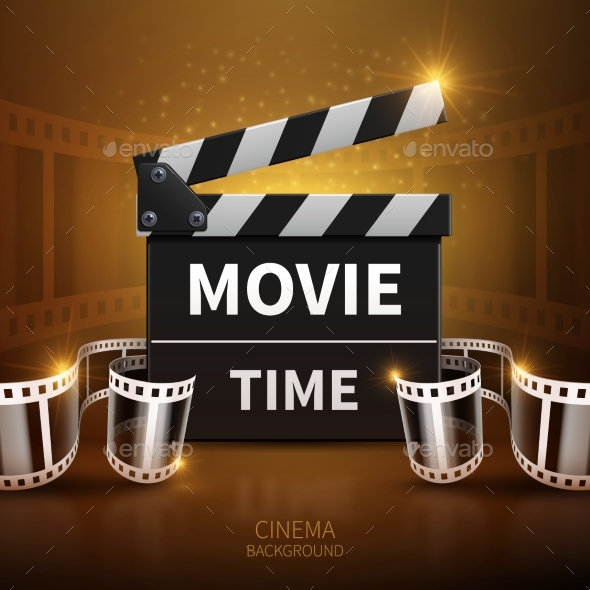 Online Movie and Television Vector Background - Backgrounds Decorative