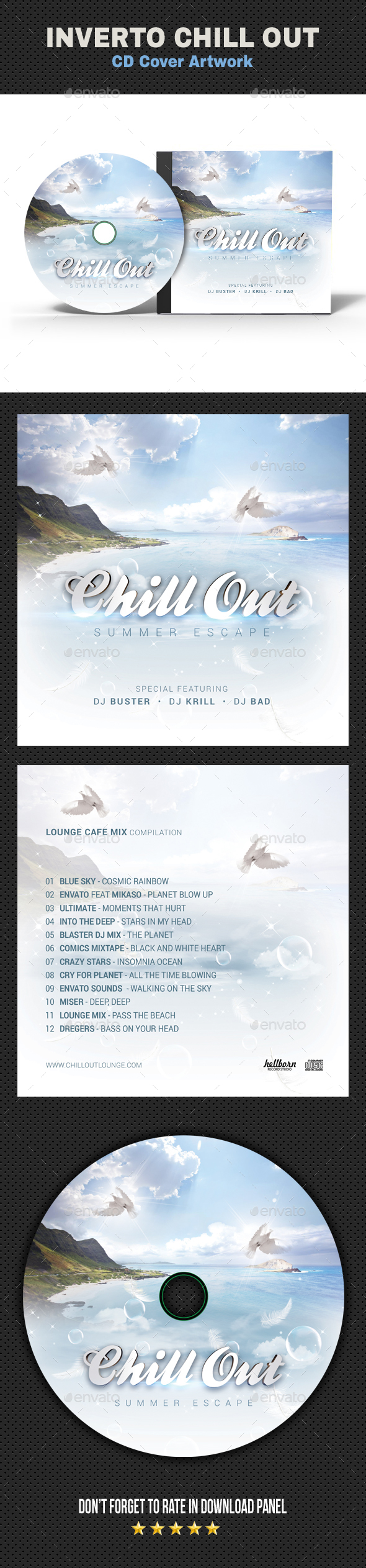 GraphicRiver Chill Out Lounge CD Cover V04 20385565