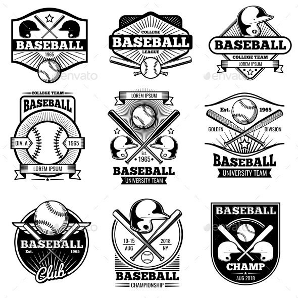 GraphicRiver Vintage Sports Logo Design 20385593