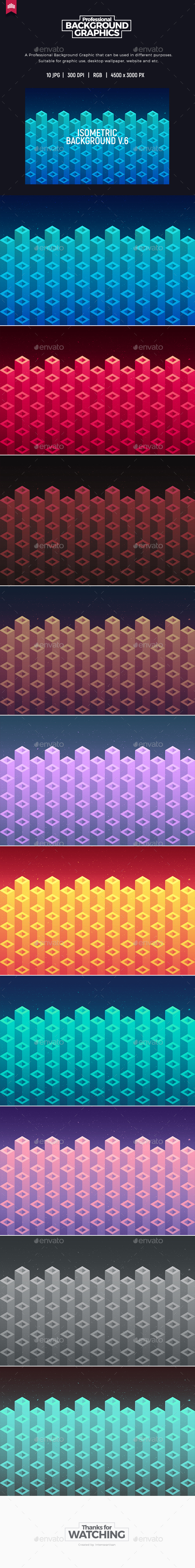 GraphicRiver Isometric Background V.6 20385697