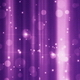 Purple Bokeh with Sparkles Background