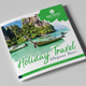 Travel Square Trifold Brochure - GraphicRiver Item for Sale