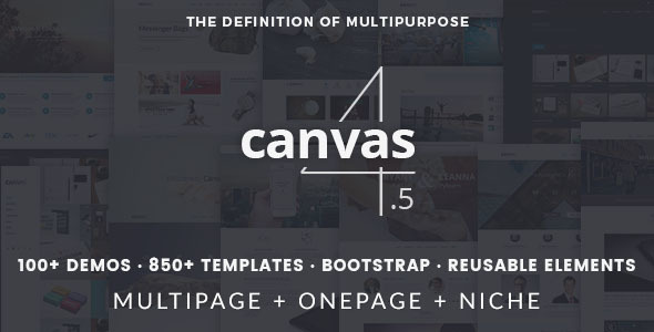 Canvas | The Multi-Purpose HTML5 Template Screenshot