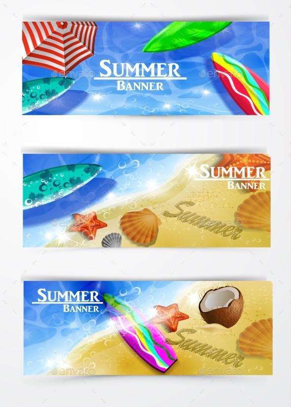 Colorful Umbrella Swimming Pool - Seasons/Holidays Conceptual