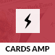 AMP Card Mobile | Mobile Google AMP Template