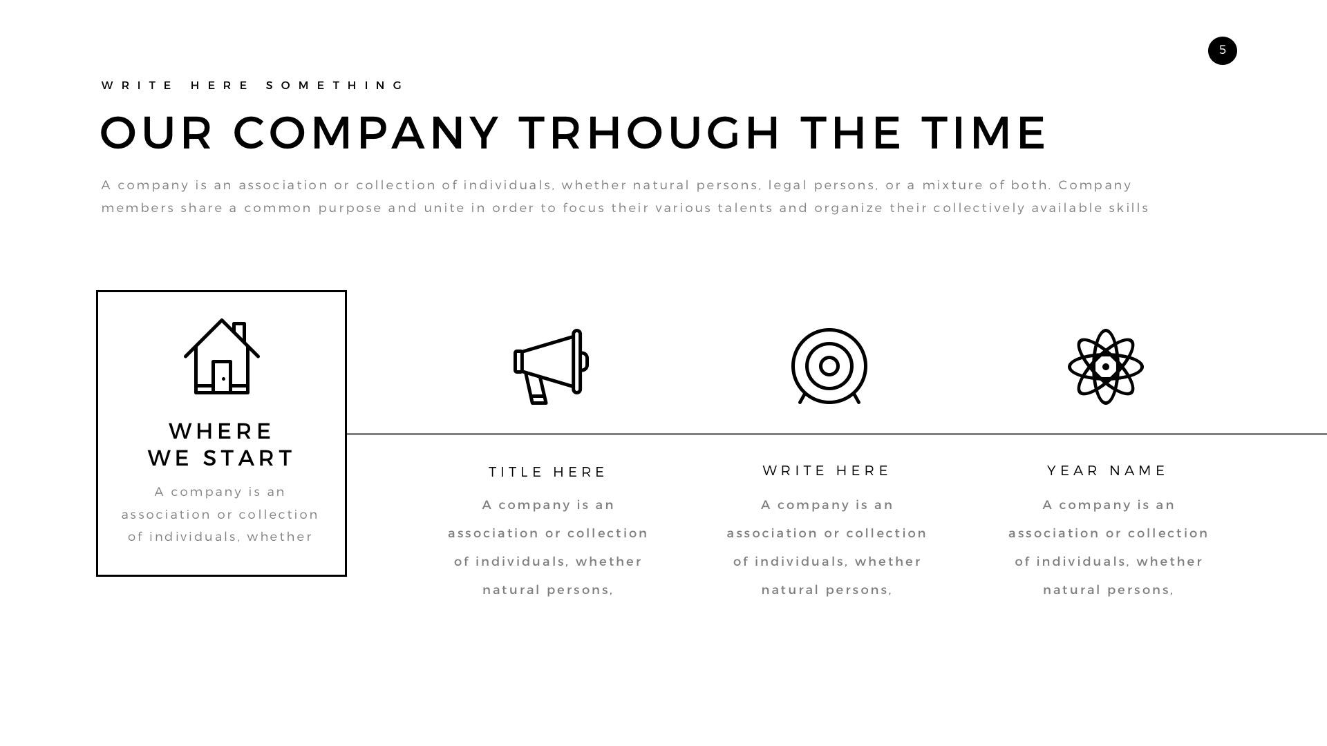 verzus minimal powerpoint templatelouistwelve-design | graphicriver, Minimal Presentation Template, Presentation templates