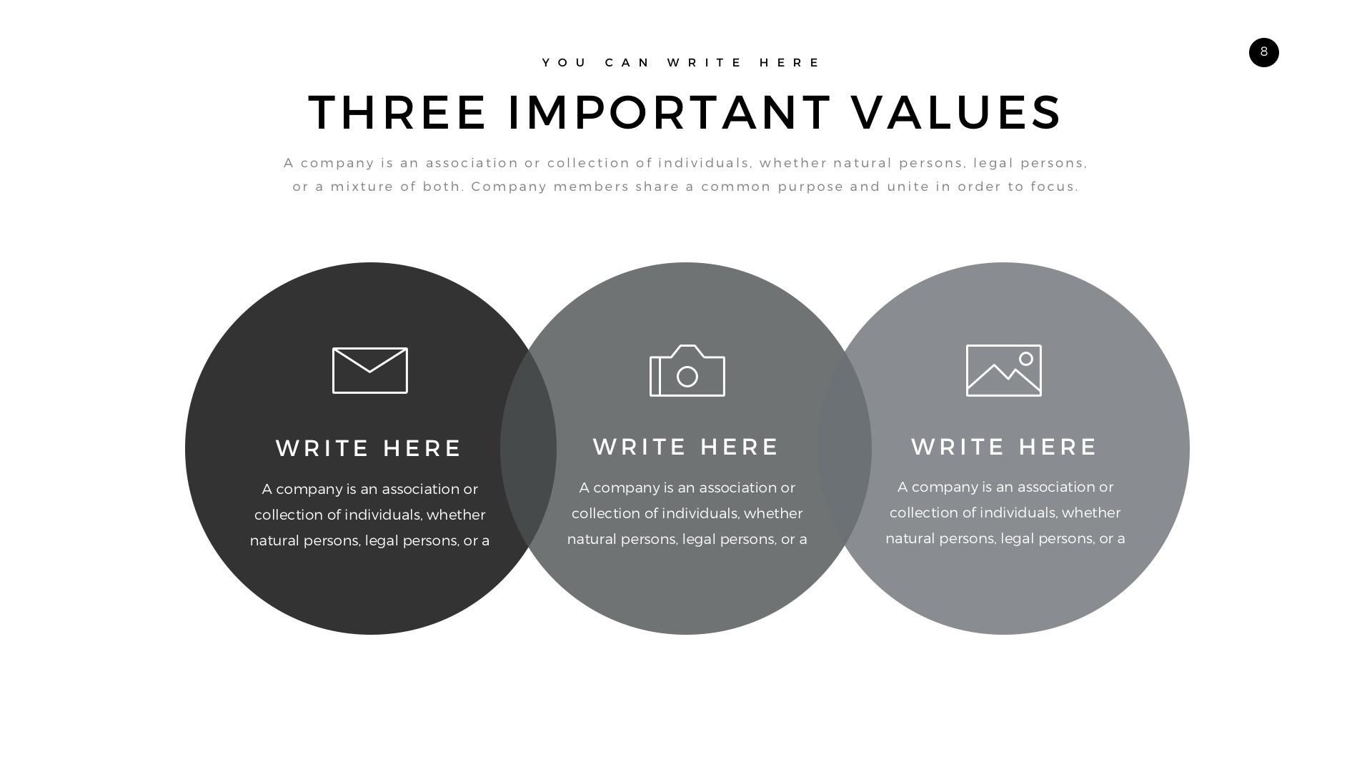 Verzus Minimal PowerPoint Template by LouisTwelve-Design   GraphicRiver