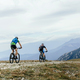 Two Men Cyclists on Mountainbike  - PhotoDune Item for Sale