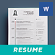 Clean Resume/Cv Volume 10 - GraphicRiver Item for Sale