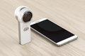 360 degree camera and smartphone