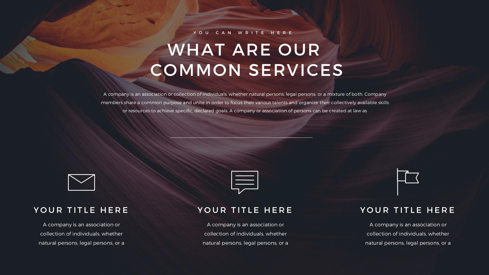 Verzus Minimal Google Slides Template by LouisTwelve-Design ...