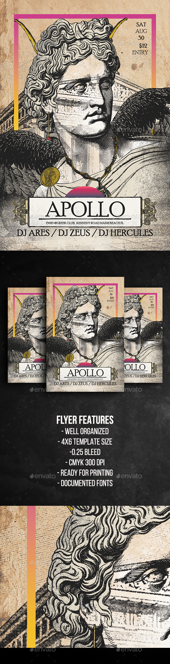 Apollo Flyer Template - Events Flyers