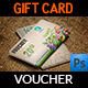 Gift Voucher Card Template Vol.25 - GraphicRiver Item for Sale
