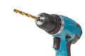 Cordless drill and a drill isolated on a white background - PhotoDune Item for Sale