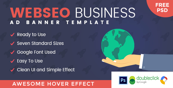 CodeCanyon Webseo SEO HTML 5 Animated Google Banner 20387499