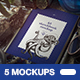 A5 Sketchbook Vintage MOCKUP - GraphicRiver Item for Sale